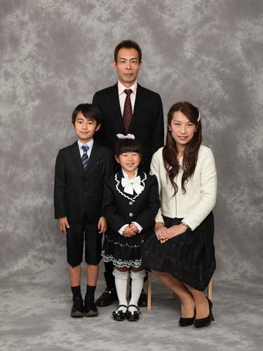 家族写真フォーマル
